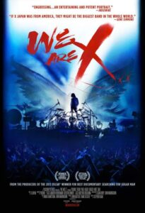 We are X - Locandina
