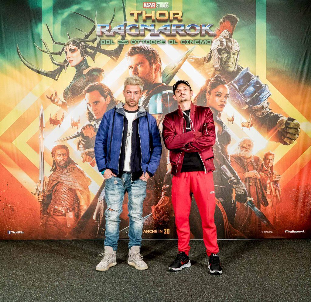 Thor: Ragnarok - Danti e Fabio Rovazzi