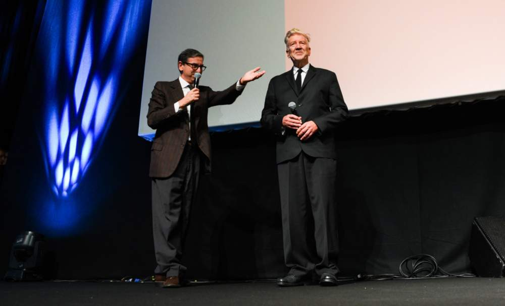 David Lynch e Antonio Monda - Festa del Cinema di Roma 5